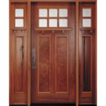 Pella Craftsman style entry door