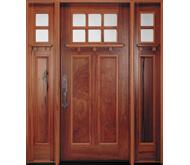 Pella Craftsman style entry door