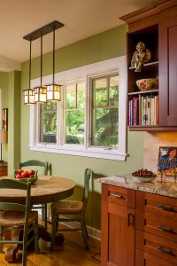 Pella casement style, interior view