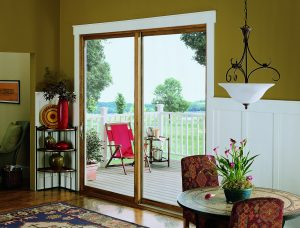 Marvin contemporary sliding patio door