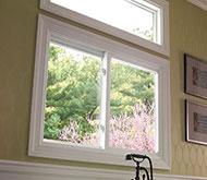 Alside slider style window