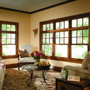 Wood windows from Pella   McCann Window
