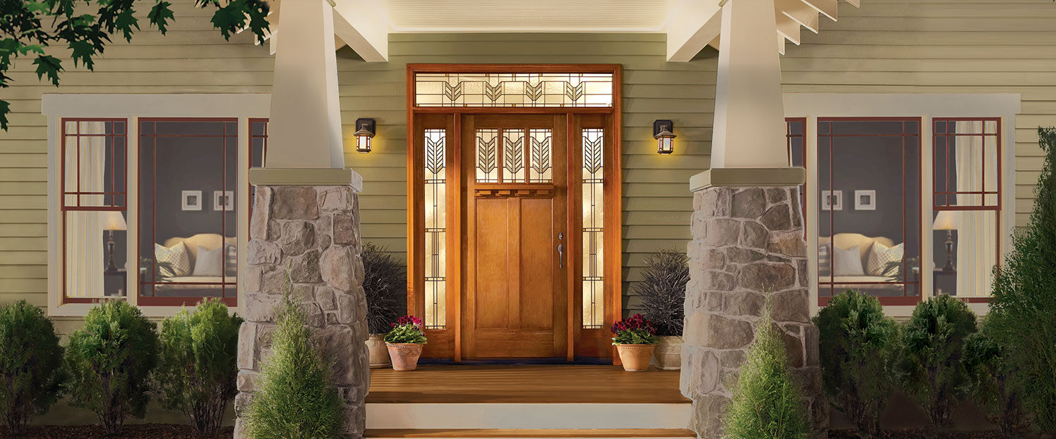 Exterior Doors Entry Doors Therma Tru Pella Mccann