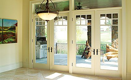 Therma Tru Patio Double French Doors