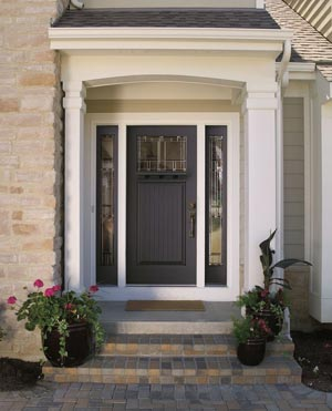 Fiberglass Entry Door & Exterior Doors Entry Doors Therma-Tru Pella | McCann Window ...